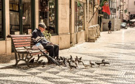 Armed Forces Home Equity Loan In Ottawa, Old Man Feeding Pigeons Imgae - Mortgage Forces