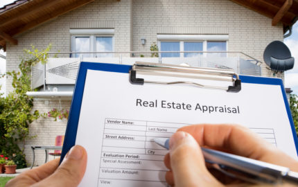 Image of home appraisal form